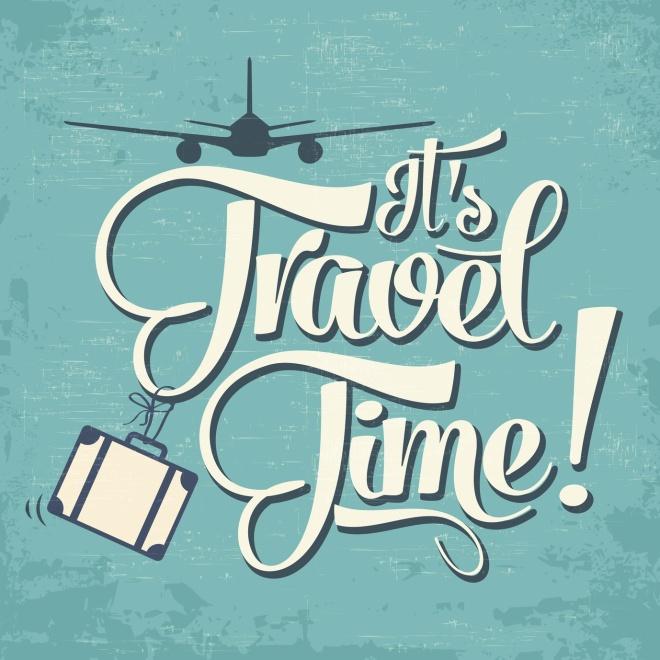 Contagem Regressiva. É hora de viajar!