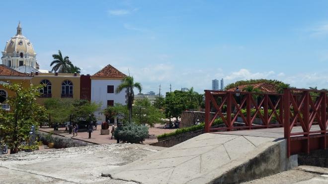 Muralha em Cartagena